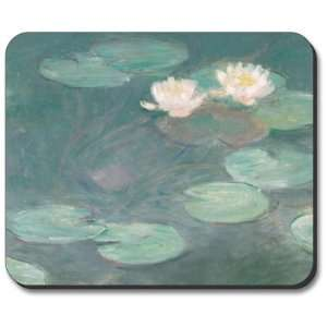 Monet Water Lilies (Close Up)   Mouse Pad Electronics