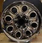 Chevy Silverado GMC Sierra 17 Chrome Steel Factory OEM Wheel Rim 05