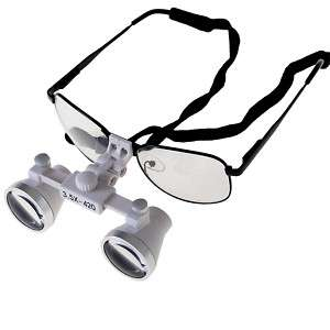 Dental Surgical Medical 3.5X Loupes glass Dentist