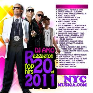 DJ Amo Top 20 Reggaeton of 2011 Best Songs Full Song CD