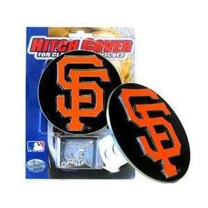 MLB Trailer Hitch Cover   San Francisco Giants Sports