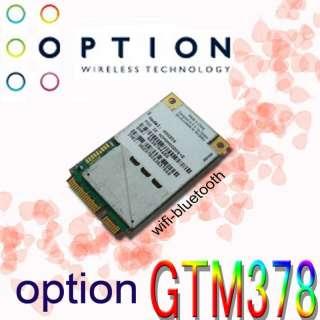 Option GTM378 7.2Mbps WWAN GPS for dell Latitude E6400 E6500 E6510