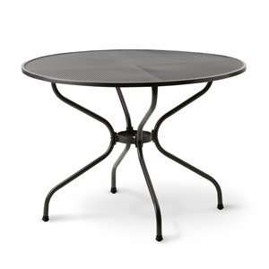 Kettler QH689122 Round Mesh Top Outdoor Dining Table