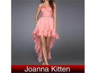 Fashion Women formal evening Mini dress short front&long back fashion