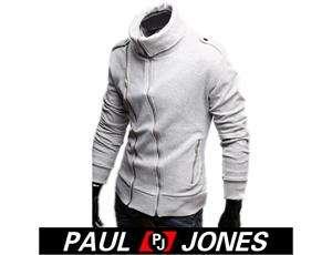 PJ Men's Korea Slim Warm Jackets Coats Hoody XS S M L