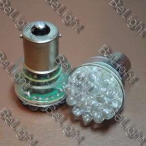 2 X White 1156 30 LED Car Light Tail Brake Bulbs