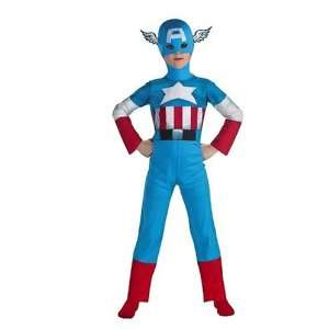 Marvel Comics Captain America Teen Costume Size 11 14