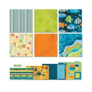 American Traditional Endless Summer Scrapbook Page Kit 12X12 PK1836