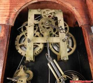ANTIQUE VINTAGE WILLIAM .L. GILBERT CLOCK 1880S MANTEL SHELF TIME