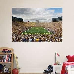 Wall Graphic Michigan Stadium The Big House Mural