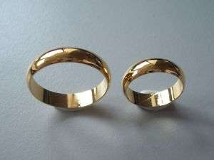 24K GP Gold Plated Plain Ring 4  10.25 For Toe/Finger