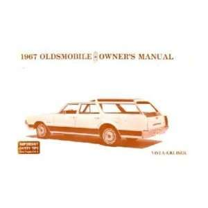 1967 OLDSMOBILE VISTA CRUISER Owners Manual User Guide Automotive