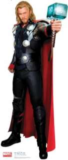 Brand new Lifesize (66 tall) standup of CHRIS HEMSWORTH as THOR from