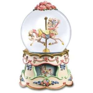San Francisco Music Box Company   Rose Parasde Waterglobe