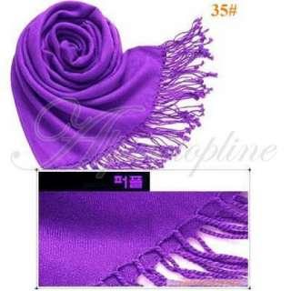Women Elegant Wool Pashmina Cashmere Scarf Shawl Wrap
