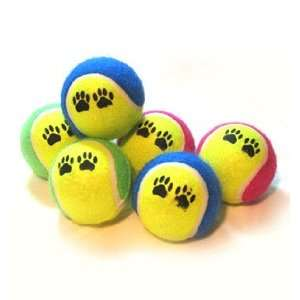 6 Pack AIR FILLED Tennis Balls for Dogs