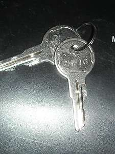 NEW PAIR OF CH510 HEAVY EQUIPMENT KEYS  JLG GRADALL NEW FACTORY KEYS