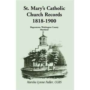 County, Maryland [Paperback] Marsha Lynne Fuller CGRS Books