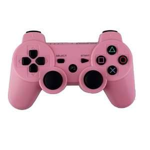 6 AXIS Wireless Bluetooth Controller for Sony PS3 Pink