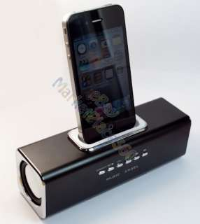SPEAKER DOCKING STATION MP4 PLAYER FOR APPLE IPHONE IPOD ITOUCH CELL
