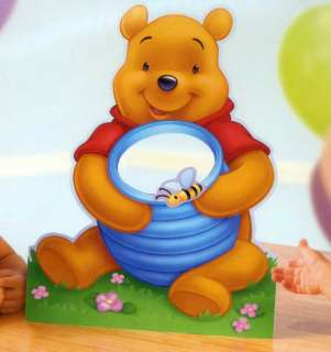 Winnie POOH Birthday Party Game Cake Table Decoration