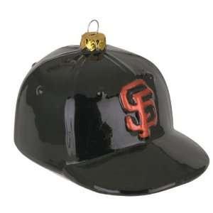 San Francisco Giants MLB Glass Baseball Cap Ornament (4