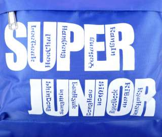 SJ Super Junior   Bag Schoolbag Backpack Fanmade Goods