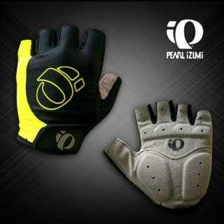 BMX Cycling Bike Bicycle Half Finger Gloves Yellow Size M L XL