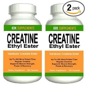 BOTTLES Creatine Ethyl Ester HCL 360 total caps CE2 Build Muscle 1