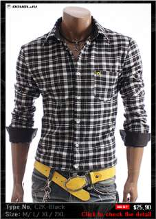 DOUBLJU Mens Casual Best Dress Shirts Collection