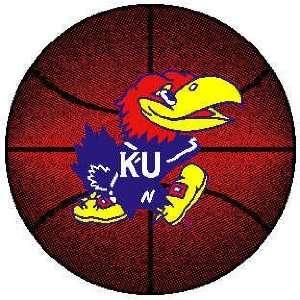 Kansas Jayhawks ( University Of ) NCAA 24 Basketball Rug