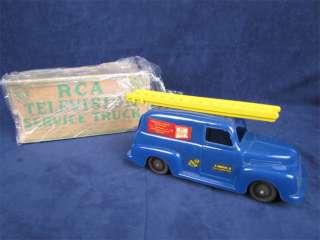 Marx 1950s RCA Television Service Panel Truck In Box