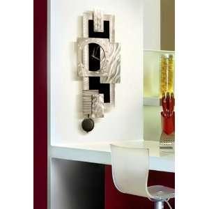 Titan Clock Abstract Metal Wall Art Home Decor Clock