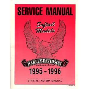 Harley Davidson 1995 1996 Official Factory Manual: Harley davidson