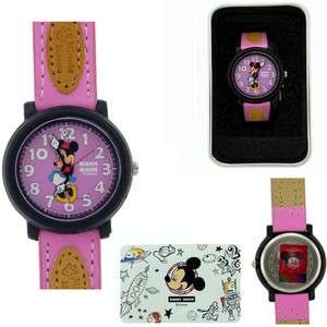 MINNIE MOUSE DISNEY WATCH COLLECTION NEW.PURPLE BAND 857528003033