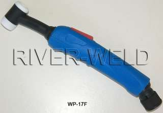 style Flexible air cooled torch body SR 17F TIG welding torch