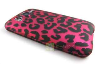 PINK LEOPARD CHEETAH Hard Case Cover HTC Inspire 4G