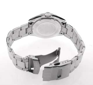 Men Silver Sapphire Crystal Watch Sottomarino SM50110 H