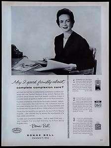 1959 Bonnie Bell Ten O Six Skin Care Magazine Ad