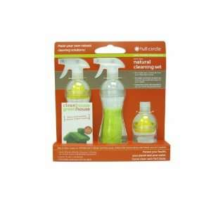 juicer, 1 microfiber cleaning cloth, 1 green house cleaning guide
