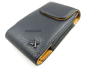 PREMIUM BLK LEATHER POUCH CASE SAMSUNG GALAXY S II EPIC TOUCH 4G