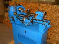 ENCO 9 x 20 Belt Drive Bench Lathe & Stand Used