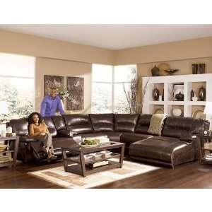 ... Ashley Furniture Exhilaration Chocolate Modular ...