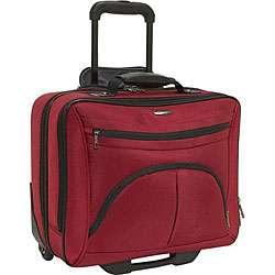 Samsonite Red Rolling Laptop Case