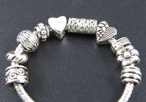 Tibetan Silver Nice Spacer Beads Fit European Charm Bracelet #fm126