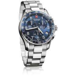 Swiss Army Mens Chrono Classic Blue Dial Watch