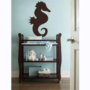 Vinyl Wall Art Decal Sticker Seahorse Silhouette Kids Room