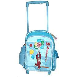 Curious George Large Rolling Backpack