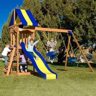 Adventure Play Sets Trail Blazer Wooden Swing Set