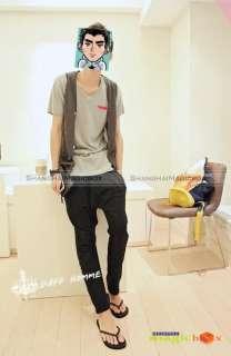 Fashion Trendy Harem Sports Casual Trousers Pants Black Grey New #036